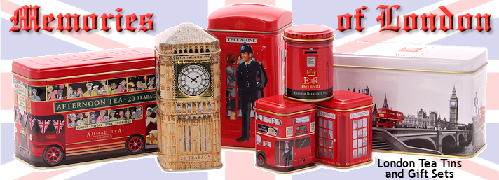 London Tea Tins and Gift Sets