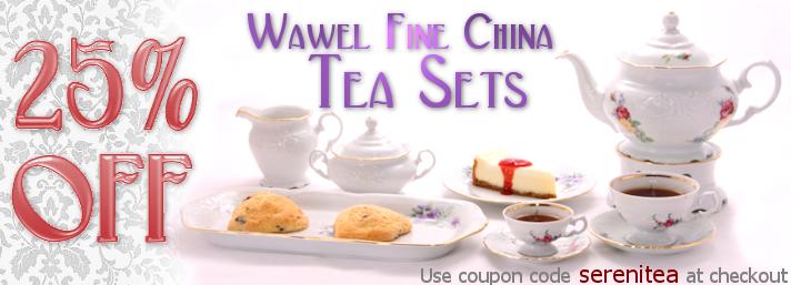 25% off Wawel Tea Sets with coupon code \'serenitea\'