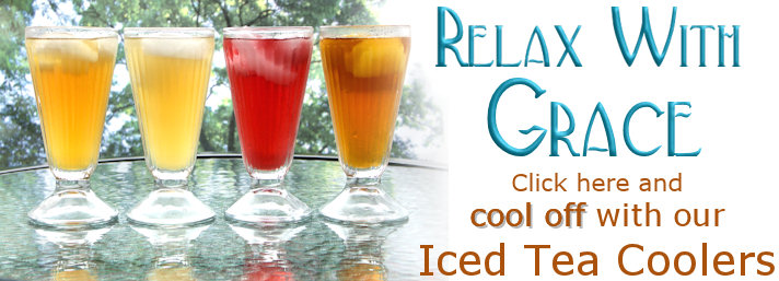 Try our iced tea coolers!