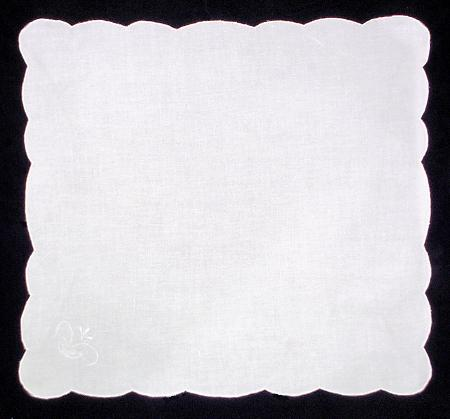 Canon Embroidered Cutwork Tablecloth Set - 64 in. Round - detail