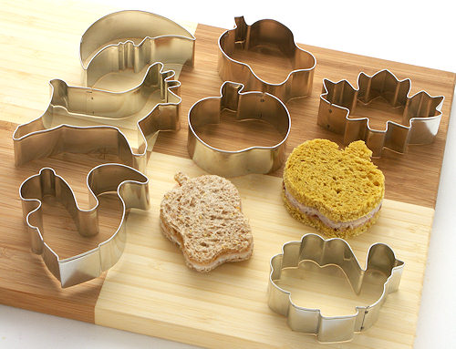 Autumn Cookie and Sandwich Cutters