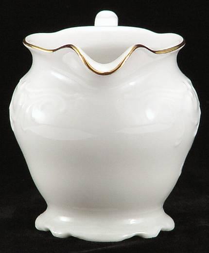 Elegance Fine China Creamer - detail