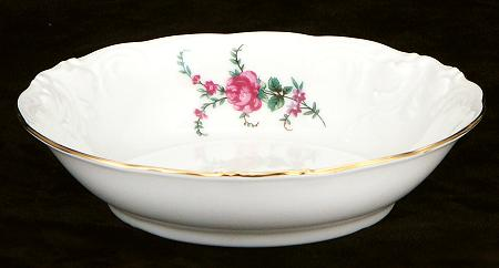 Rose Garden Fine China Sauce Dish - detail