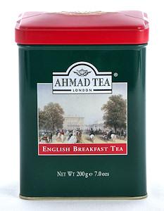 Ahmad Tea English Breakfast Loose Tea in English Tin - 200 g
