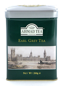 Ahmad Tea Earl Grey Loose Tea in English Tin - 200 g