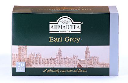 Ahmad Tea Earl Grey Tea - Box of 20 Tea Bags