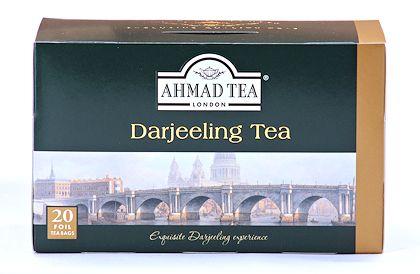 Ahmad Tea Darjeeling Tea - Box of 20 Tea Bags