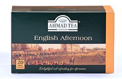 Ahmad Tea English Afternoon Tea - Box of 20 Tea Bags