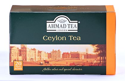 Ahmad Tea Ceylon Tea - Box of 20 Tea Bags