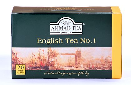 Ahmad Tea English Tea No. 1 - Box of 20 Tea Bags
