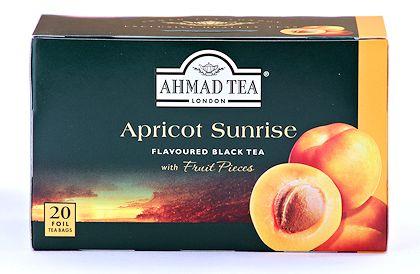 Ahmad Tea Apricot Sunrise Tea - Box of 20 Tea Bags