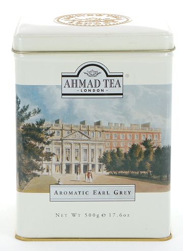 Ahmad Tea Aromatic Earl Grey Loose Tea in Tin - 500 g