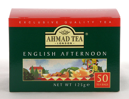 Ahmad Tea English Afternoon Tea - Box of 50 Tagless Tea Bags