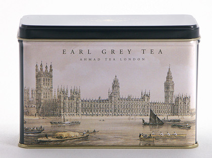 Ahmad Tea Earl Grey Heritage Caddy - 25 Teabags