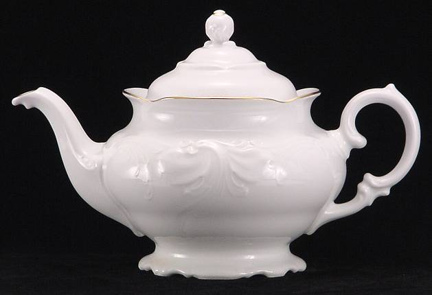 Elegance Fine China Teapot - Large