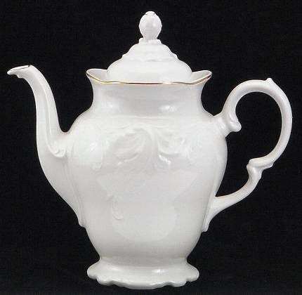 Elegance Fine China Coffee Pot