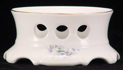 Violet Fine China Teapot Warmer