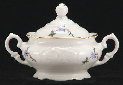 Rose Garden Fine China Children's Sugar Bowl