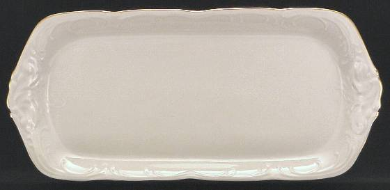 Elegance Fine China Sandwich Tray