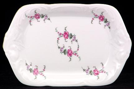 Rose Garden Fine China Small Serving Tray