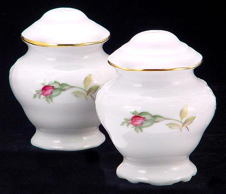 Rose Bouquet Fine China Salt and Pepper Shakers
