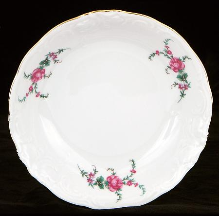 Rose Garden Fine China Sauce Dish