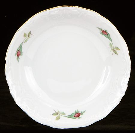 Rose Bouquet Fine China Sauce Dish