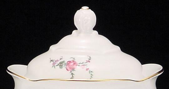 Rose Garden Fine China Large Teapot Lid