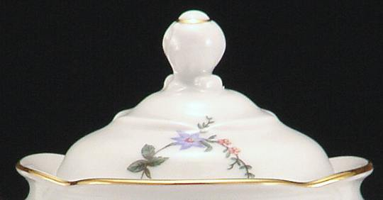 Rose Garden Fine China Children's Sugar Bowl Lid