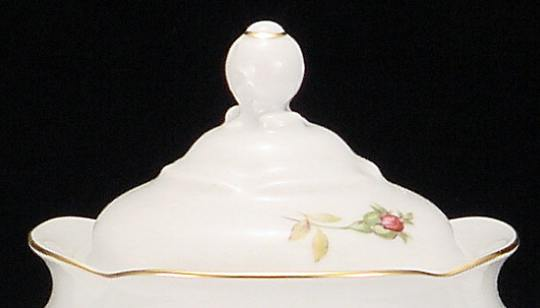 Rose Bouquet Fine China Small Teapot Lid