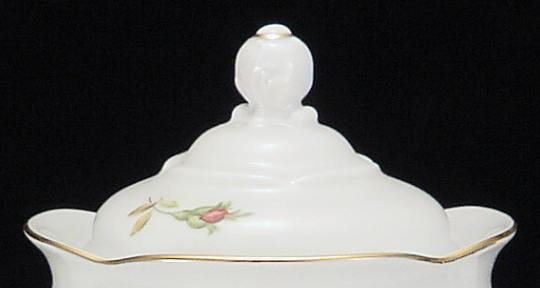 Rose Bouquet Fine China Medium Teapot Lid