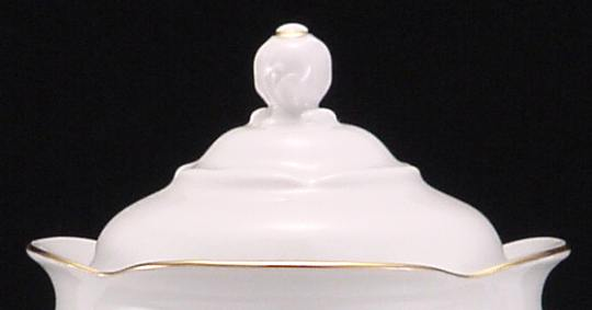 Elegance Fine China Large Teapot Lid