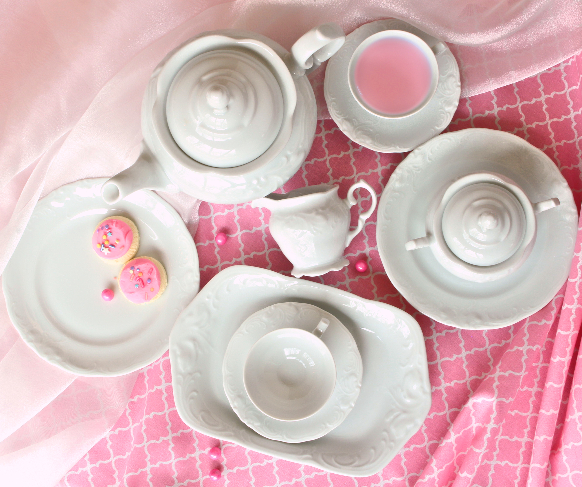 Lady Abigail Fine China Tea Set for Children