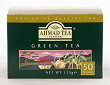 Ahmad Tea Green Tea - Box of 50 Tagless Tea Bags