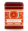 Harney & Sons Cranberry Autumn Tea Tin - 20 Sachets