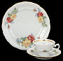 Rose Bouquet Fine China Children's Starter Setting (Bonus $10 Gift Certificate!)
