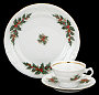 Christmas Berry Fine China Children&#039;s Starter Setting (Bonus $10 Gift Certificate!)