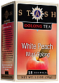Stash White Peach Wuyi Oolong - Box of 18 Tea Bags