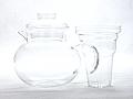 Primula Glass Teapot