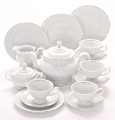 Elegance Fine China Tea Set for Four