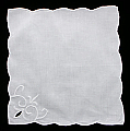 Cambria Embroidered Cutwork Tea Napkin