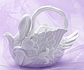 White Swan Teapot