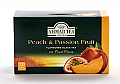Ahmad Tea Peach and Passion Fruit - Box of 20 Tea Bags