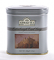 Ahmad Tea Edinburgh Earl Grey Loose Tea Castle Caddy - 100 g