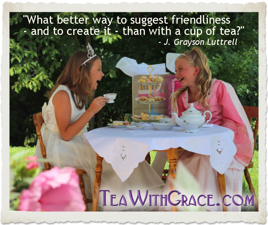About Tea With Grace