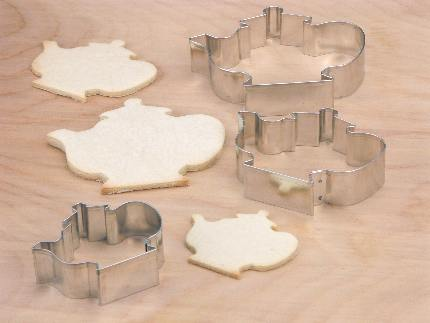 Teapot Cookie Cutter Collection - detail