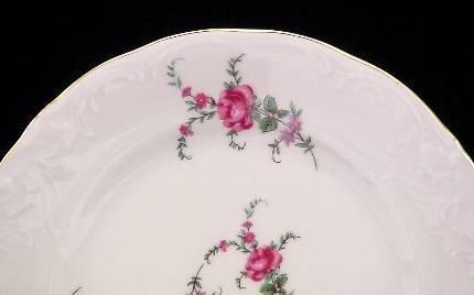 Rose Garden Fine China Tea Set for Four - detail