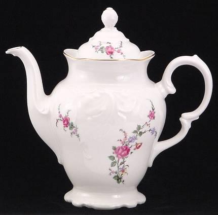 Rose Garden Fine China 48-piece Dinnerware Set - detail