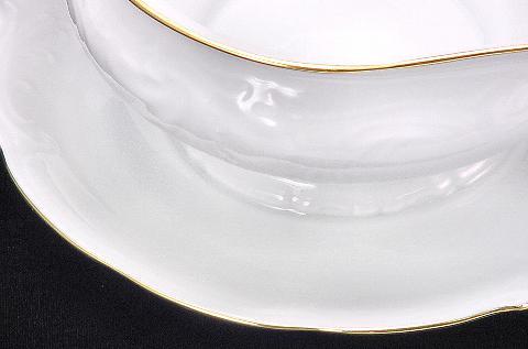 Elegance Fine China Gravy Boat - detail