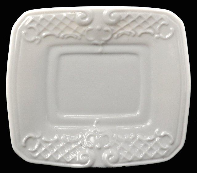 White Porcelain Rectangular Lungo Cup